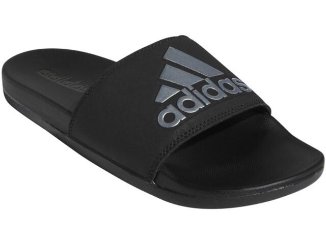 adidas Adilette Comfort Slides Women core black/silver metal/core black